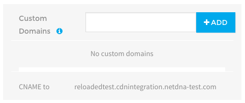 Locating custom CDN URL