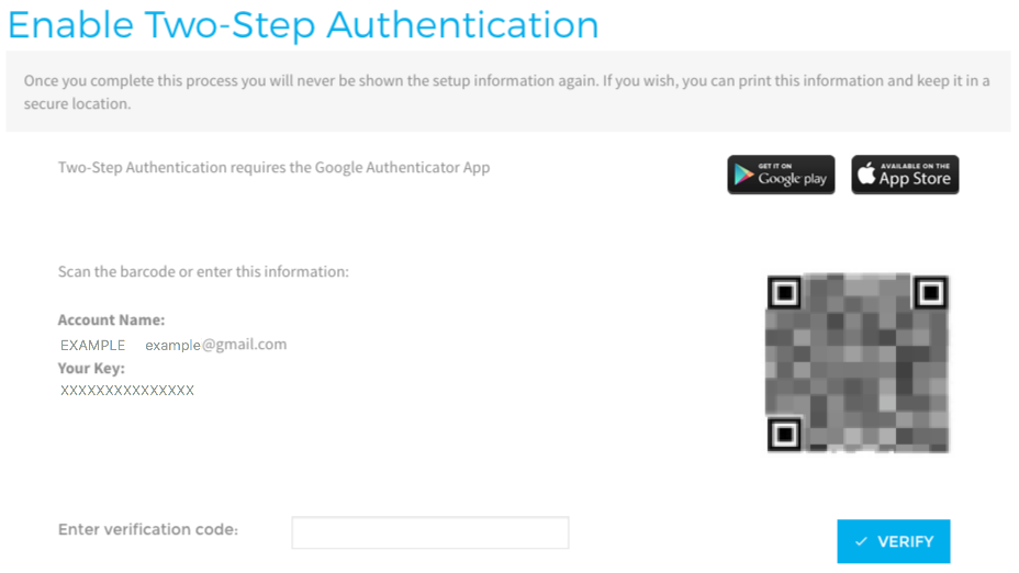 Enabling Two Factor Authentication (2FA) – StackPath Support