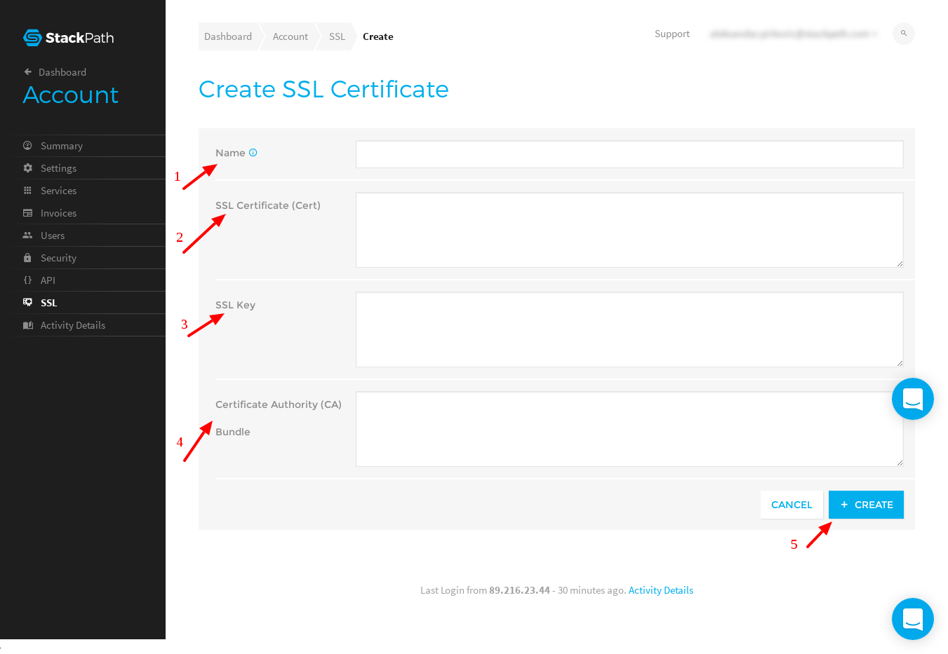 How To Upload Ssl Certificates To Stackpath Stackpath Support